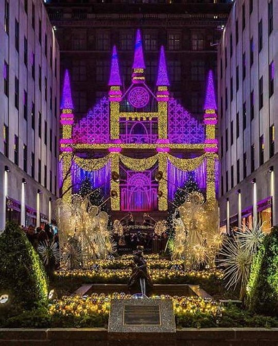 Saks from Rock Center Gardens
